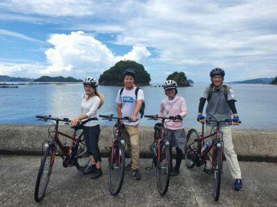 宇和島でサイクリングツアーに参加してきました!